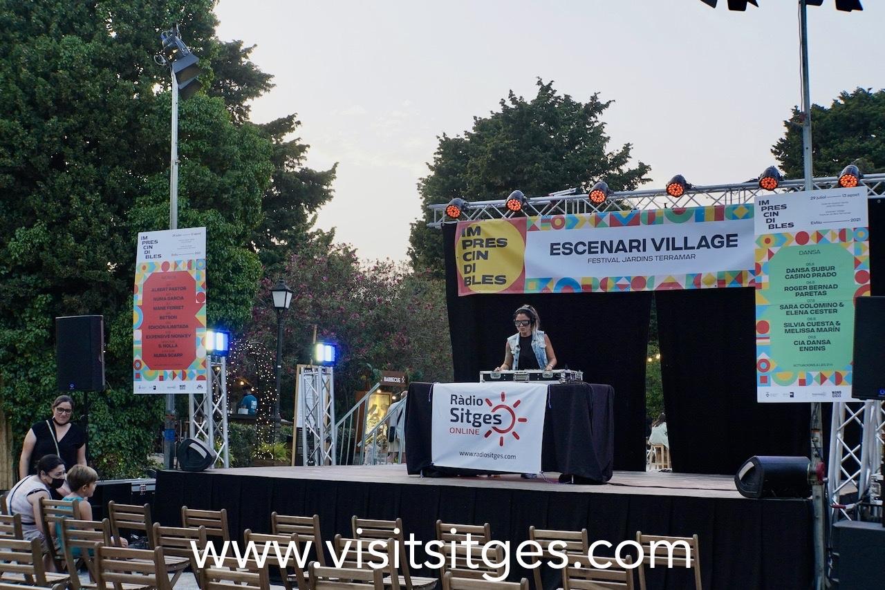 La Casa Azul en el Festival Jardins Terramar Sitges 2021