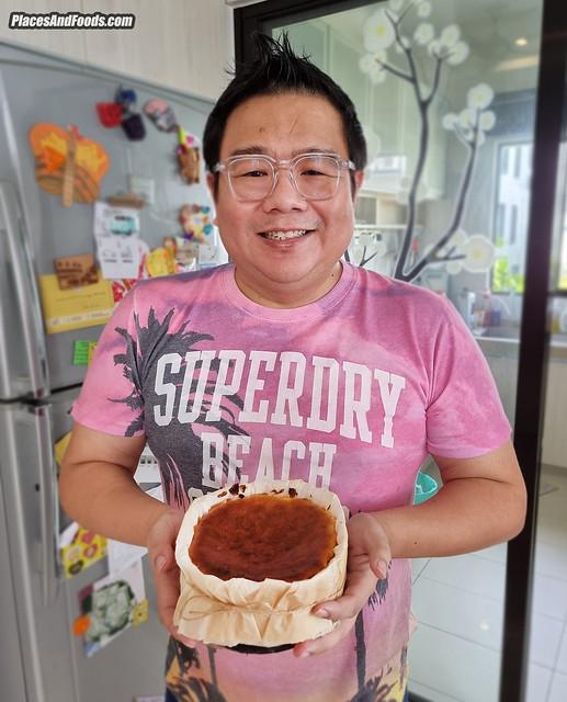 maison hei sebastian burnt cheesecake