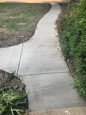 Sidewalk from Street to Front Door