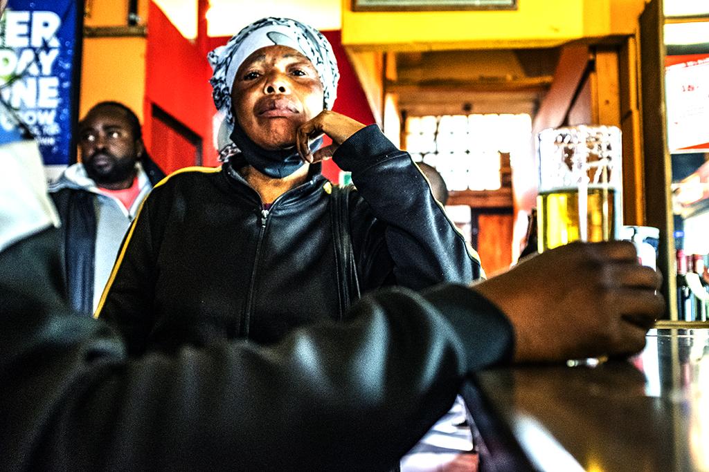 Boum Boum Africa Bar in Woodstock on 8-12-21--Cape Town