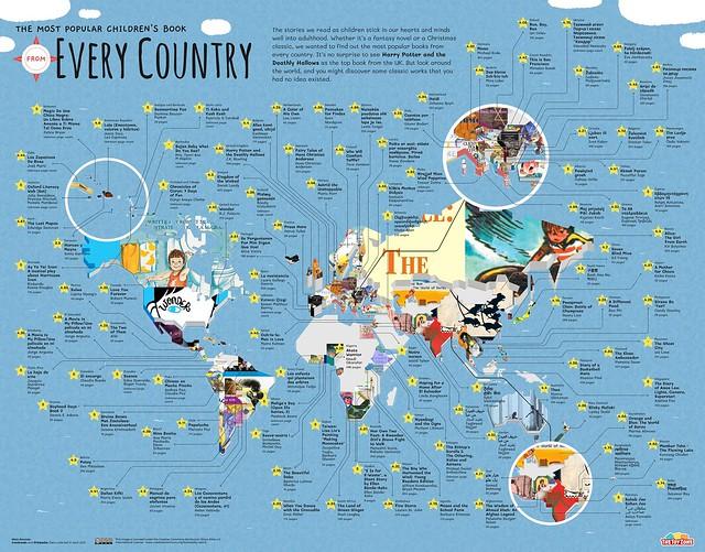 Most Popular Childrens Book World Map