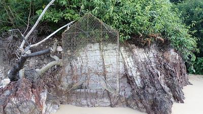 Huge fish trap on Pulau Jong, Aug 2021