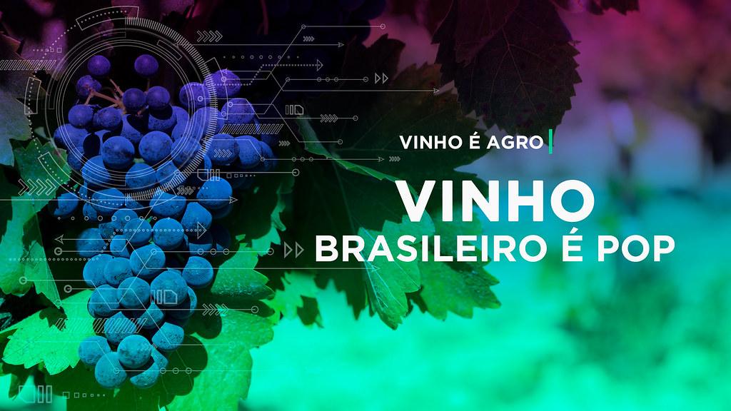 Vinho brasileiro é pop