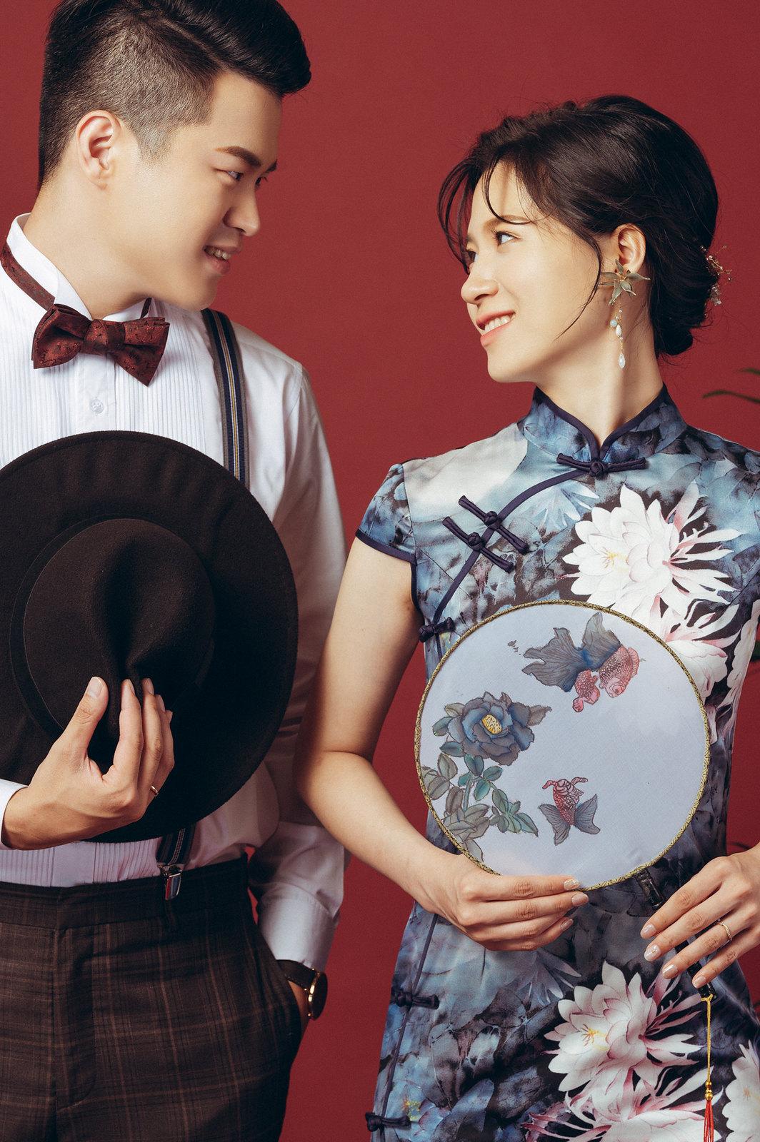 【婚紗】Frank & Tina / 中式旗袍 / 婚紗意象
