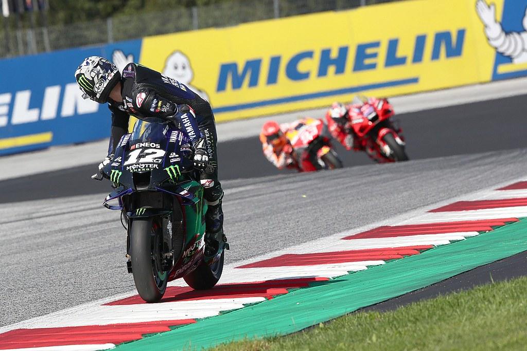Vinales Suspend GP Austria