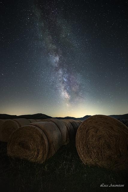 Milky way a Castelluccio di Norcia
