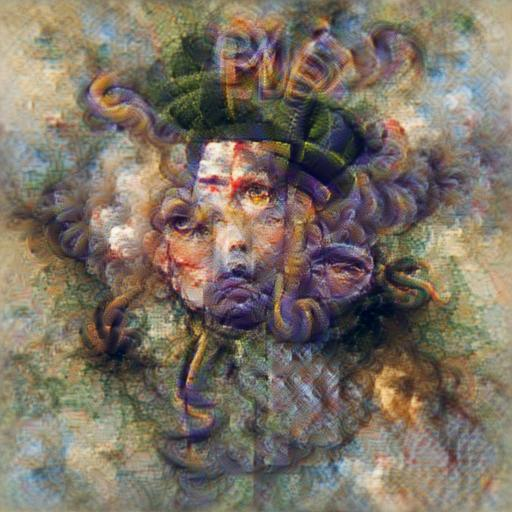 'medusa' Aphantasia Text-to-Image