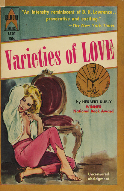 Belmont Books L501 - Herbert Kubly - Varieties of Love