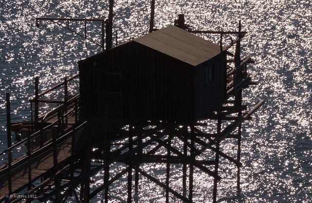 Sun, sea and fisherman's shed