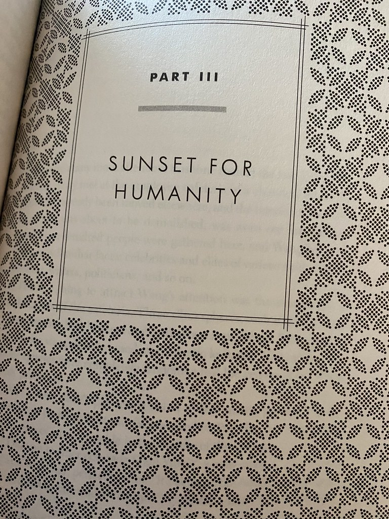Sunset for Humanity