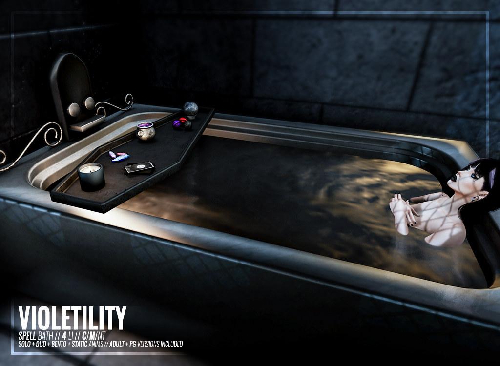 Violetility – Spell Bath