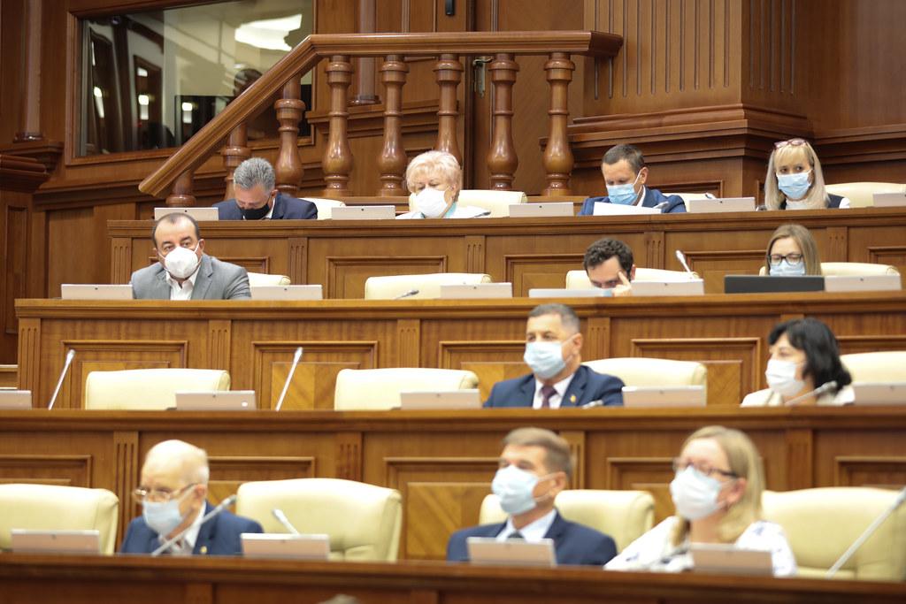 13.08.2021 Ședința plenară a Parlamentului