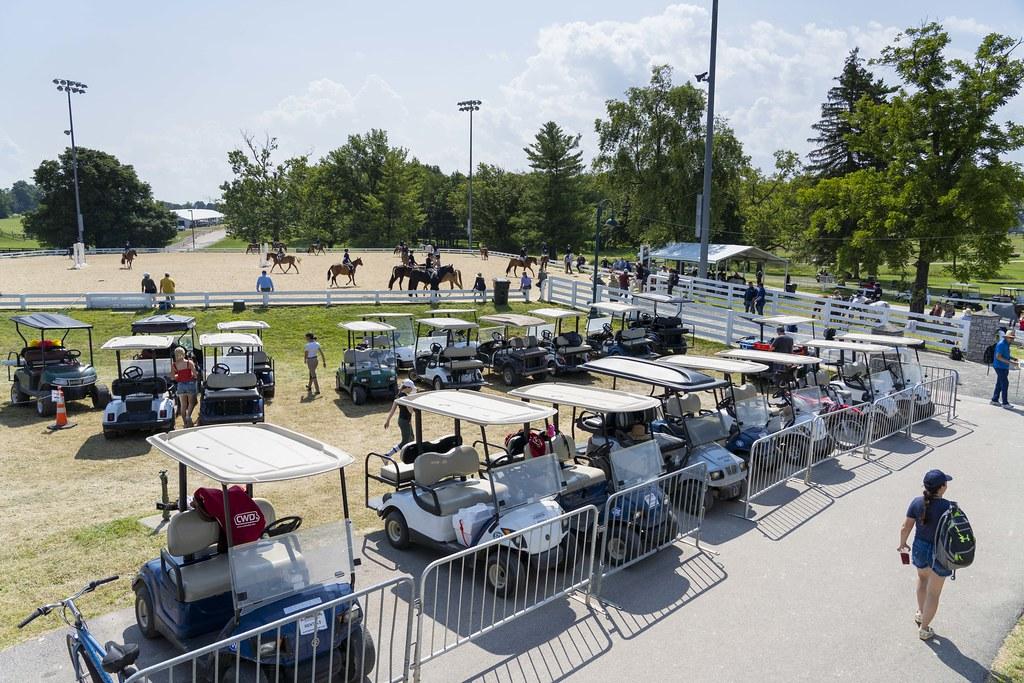Golf Cart & Warm-Up Ring