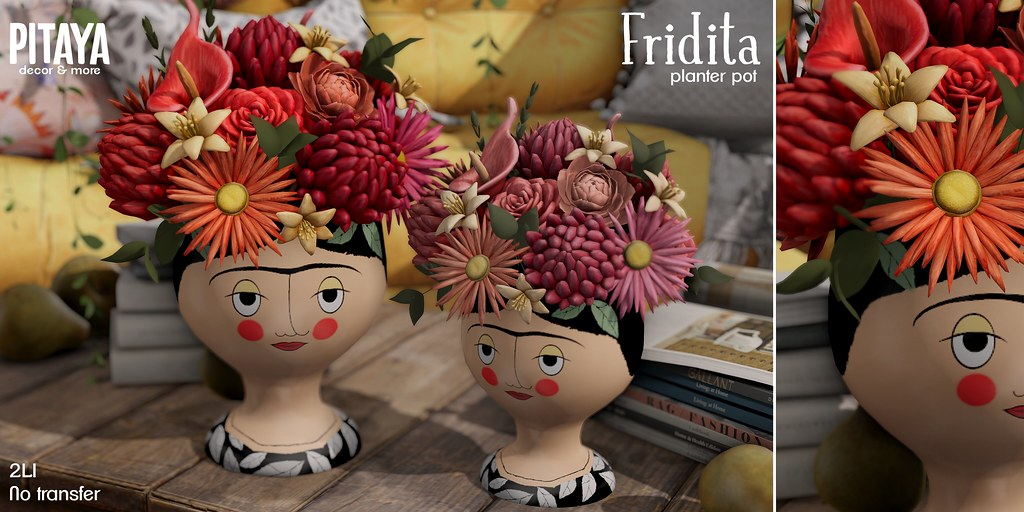 Pitaya – Fridita planter pot @ FLF