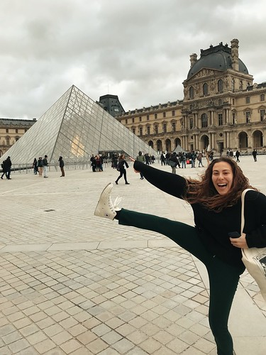 Visiting the Louvre in Paris. From Ayden Berkey: #StudyAbroadBecause ... it will be the time of your life!!!