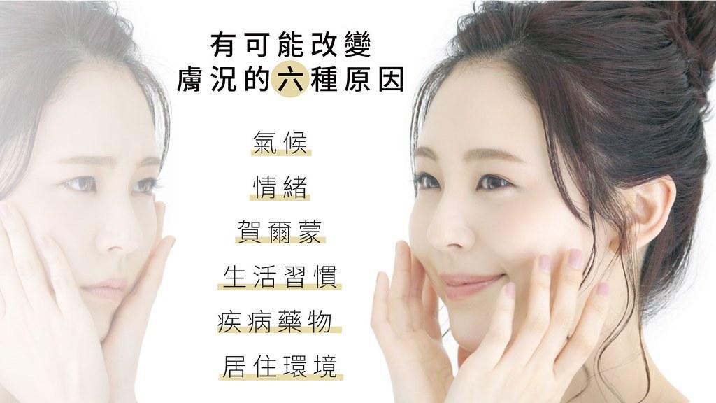 你的膚質是因為是生俱來的基因問題所以無法改變,如果你想要改善你的膚質,美上美皮膚科幫你做膚質改善!我們的肌膚保養品,可以依照不同膚況進行客製化處方,讓你在家也可以享受醫美療程,全方位解決肌膚問題。
