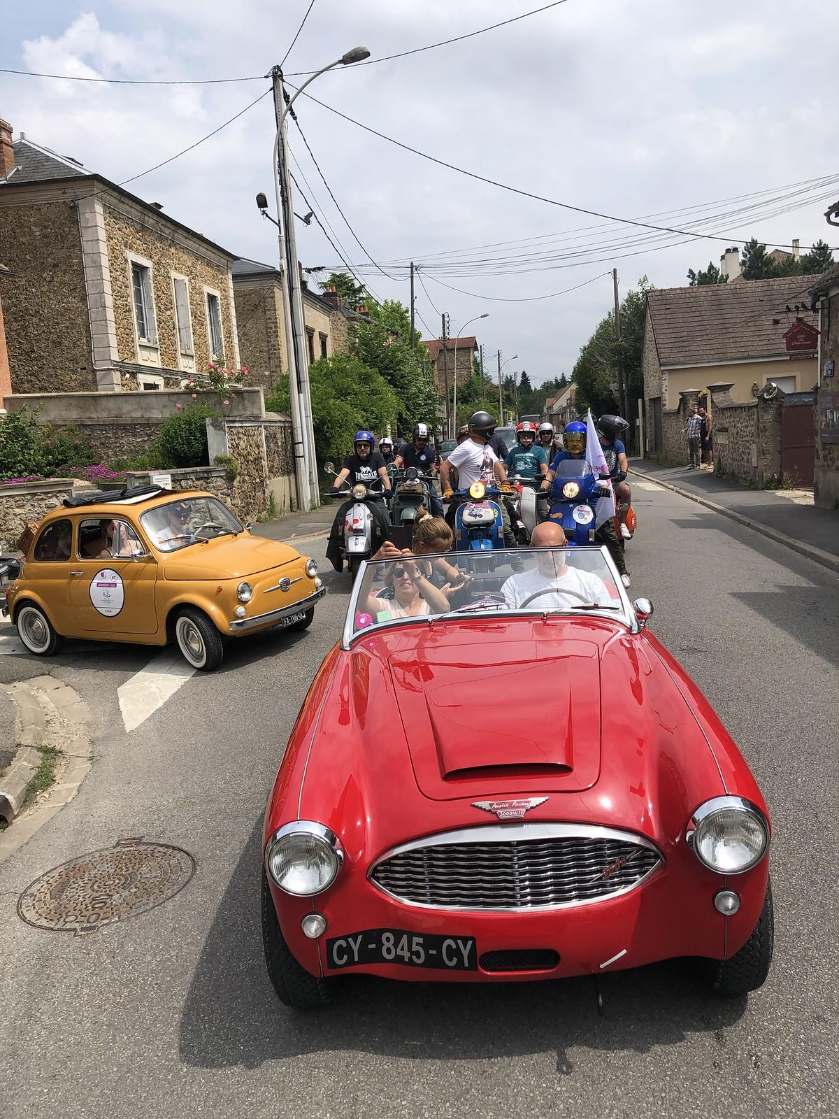 5. Rallye du Coeur 2021 Versailles
