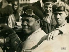 """Geraldo Severiano, o """"Raio Negro"""", 1936"""