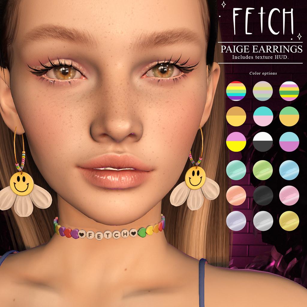 [Fetch] Paige Earrings @ FLF Birthday Bash!