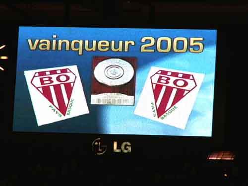 Stade français Paris vs Biarritz - Finale Top16 16 juin 2005