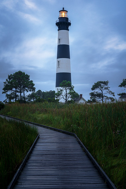 Early morning weather at the Lighthouse.