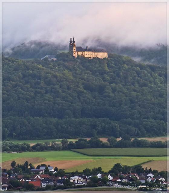 Morgenstimmung mit Kloster Banz