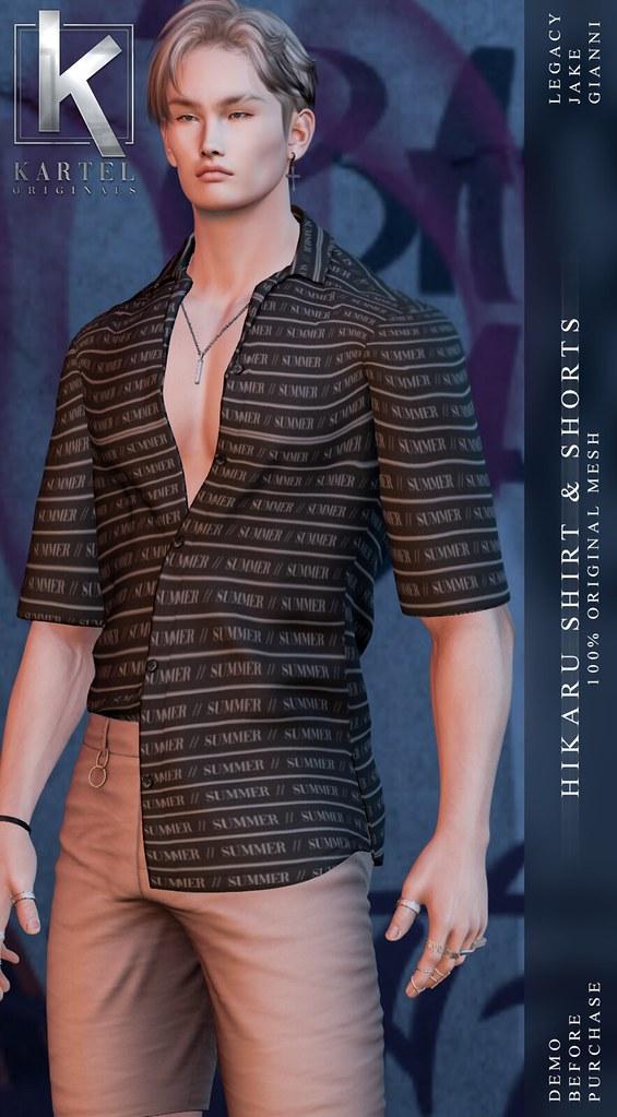 Hikaru Shirt and Shorts @ ACCESS