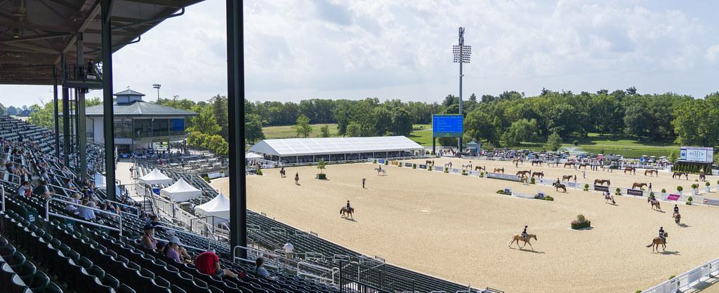 Pony Finals in the Rolex Arena
