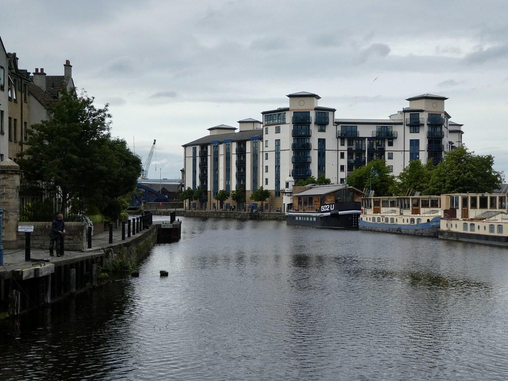 Leith waterfront, Edinburgh