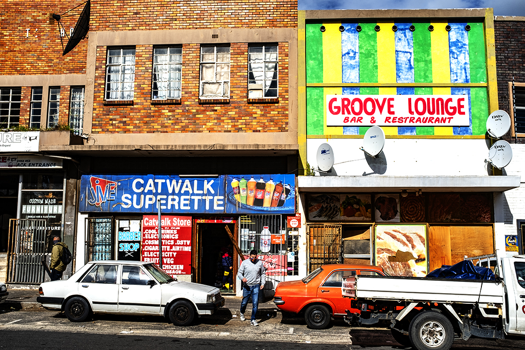 CATWALK SUPERETTE and GROOVE LOUNGE on 8-12-21--Cape Town