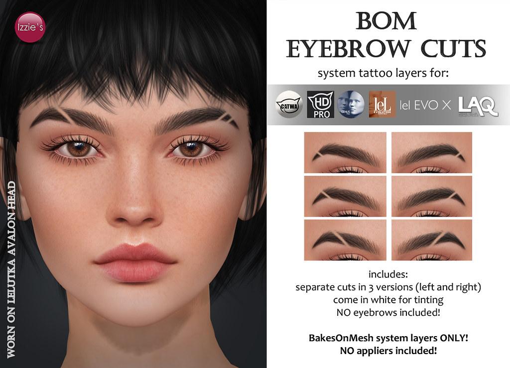 BOM Eyebrow Cuts Gift for FLF Birthday Bash