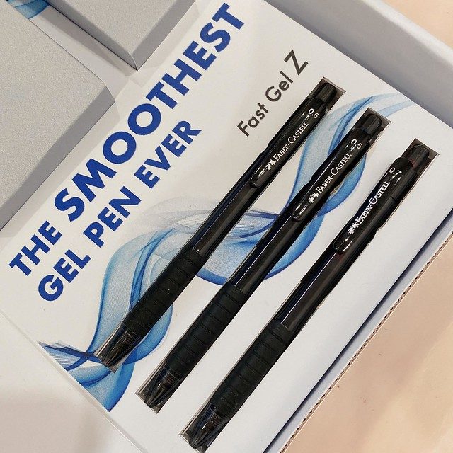 Faber Castell The smoothest gel pen in the market