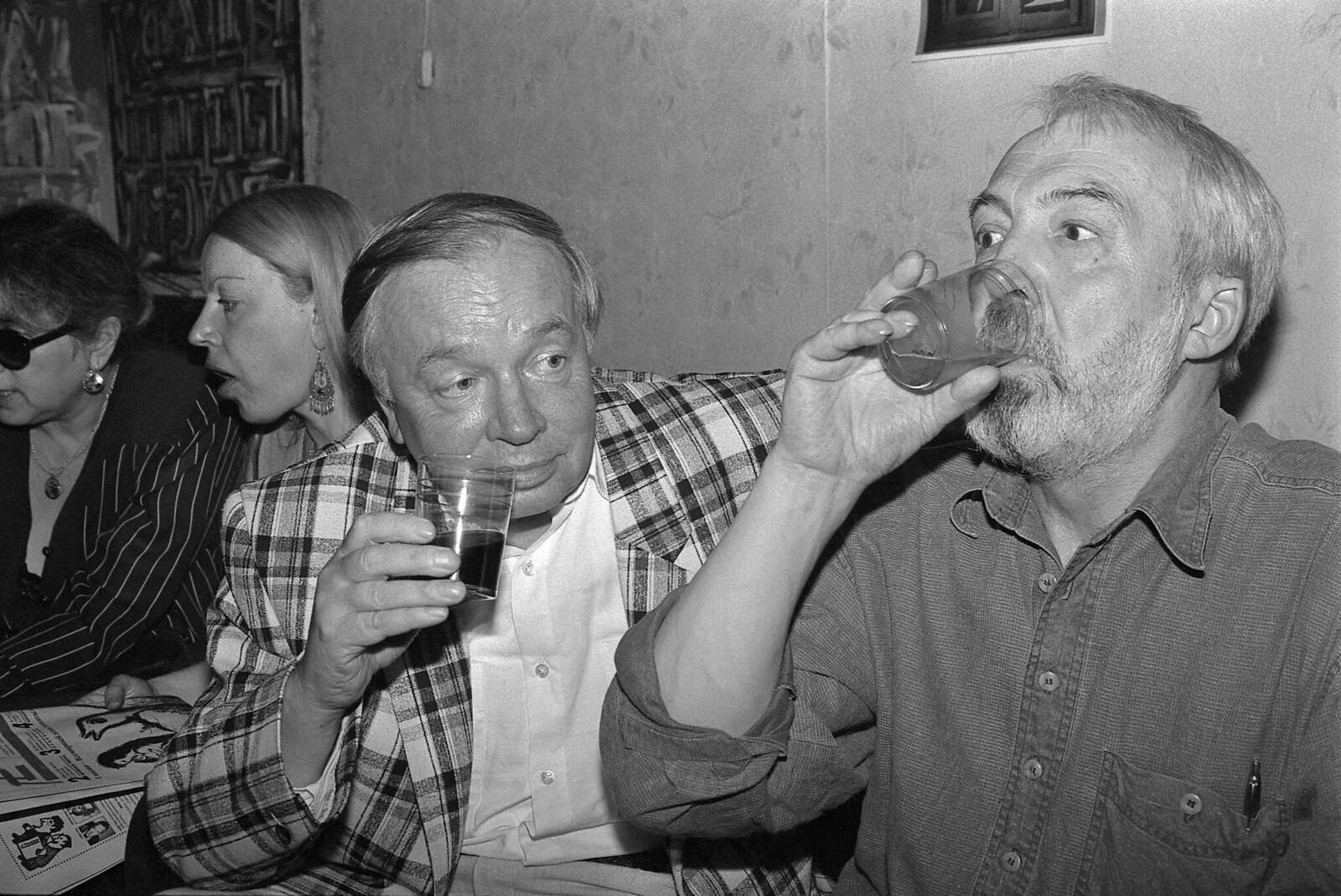 1995. Андрей Вознесенский и Андрей Битов.