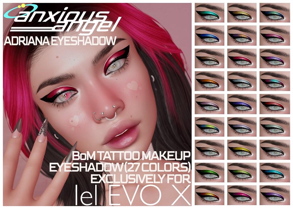 { anxious angel } Adriana Eyeshadow