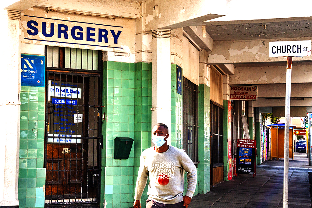 SURGERY on CHURCH ST on 8-12-21--Cape Town