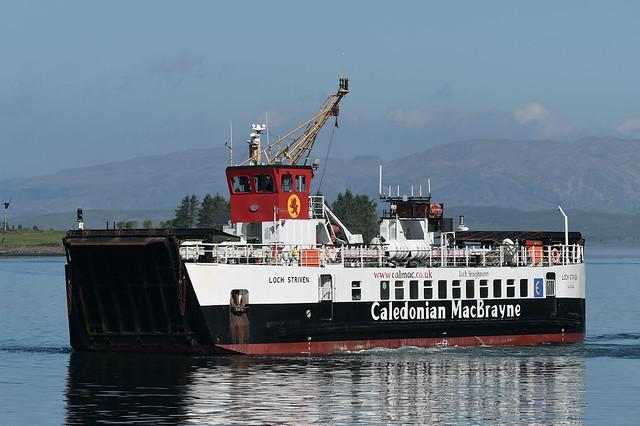 MV Loch Striven -.- Oban -.- 30-05-21