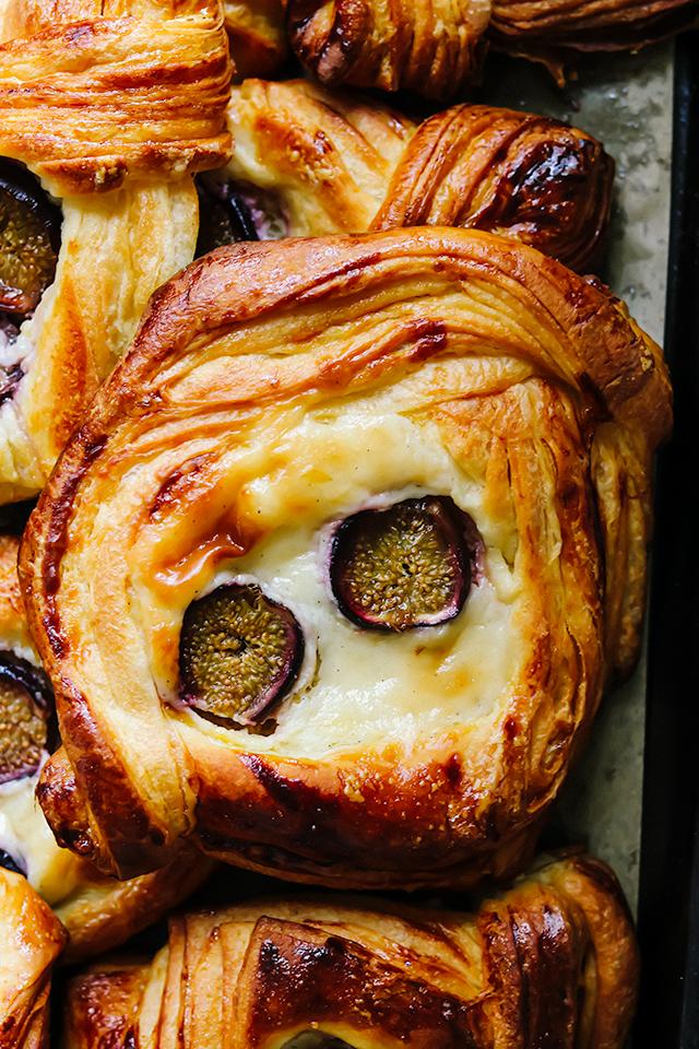 Fresh Fig and Cream Cheese Danish