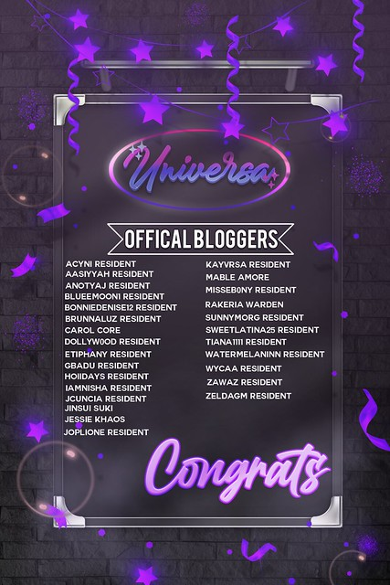 OFFICAL BLOGGERS!
