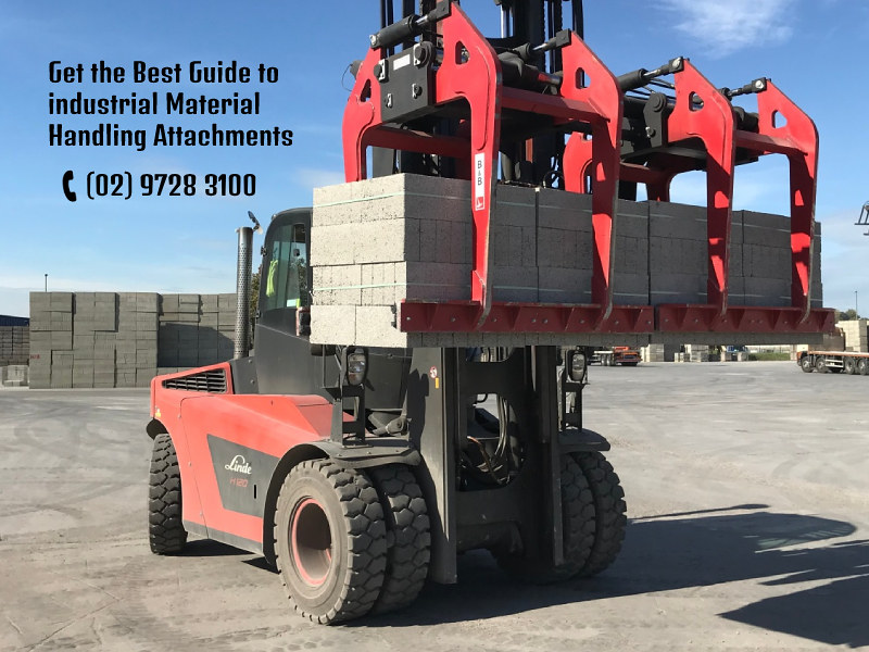 Get the Best Guide to industrial Material Handling Attachments