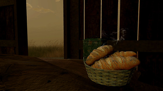 The early morning bread