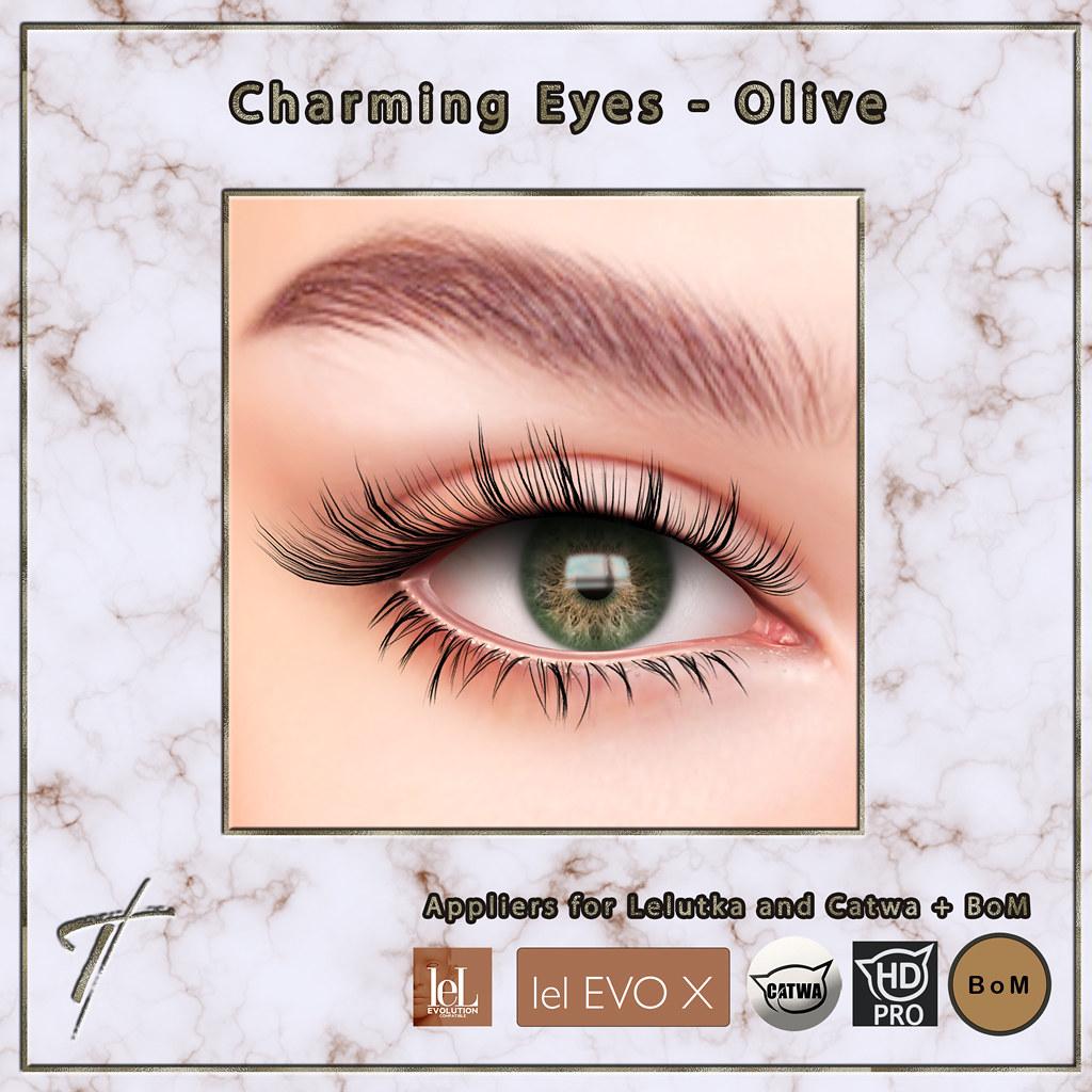 Tville – Charming Eyes *olive*