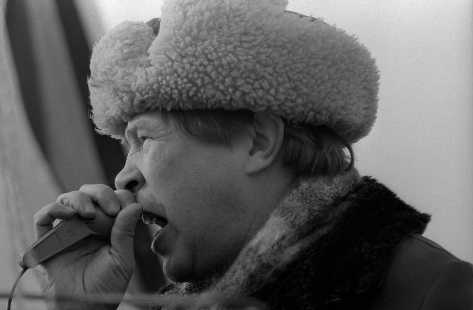 1995. Виктор Ампилов - лидер партии «Трудовая Россия».