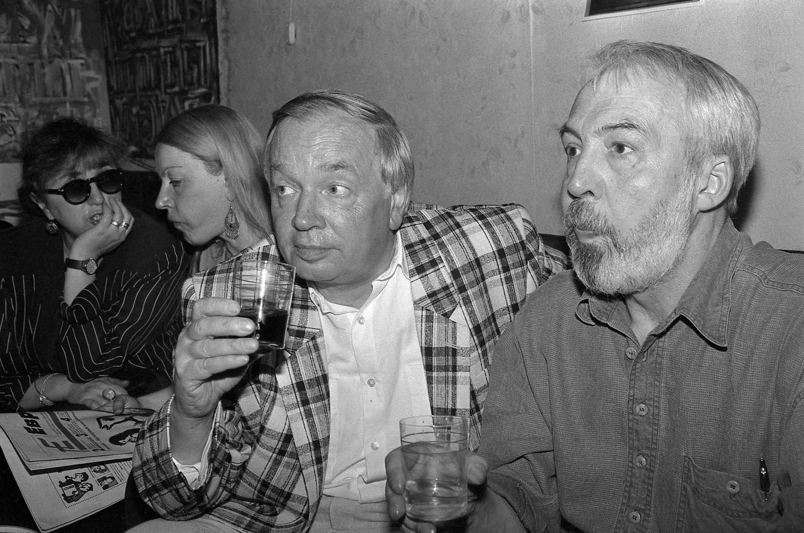 1995. Андрей Вознесенский и Андрей Битов