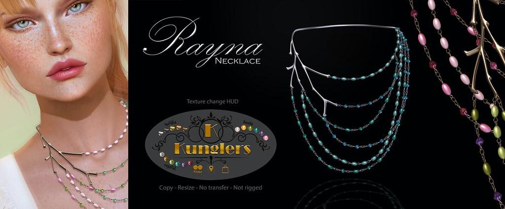 KUNGLERS Rayna Necklace