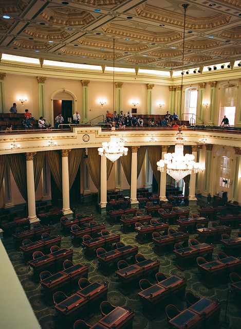 Chamber of the California Assembly, California State Capitol [2013]