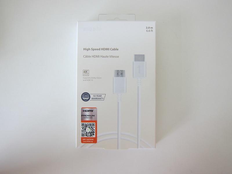 Moshi HDMI Cable - Box Front