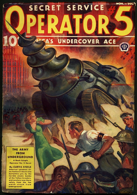 Operator #5 - 1939 The Army From Underground