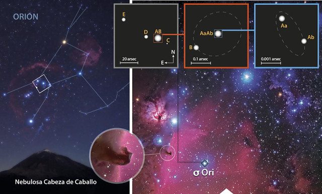 Orion -02- Cinturon de Orin -02- Alnitak 01