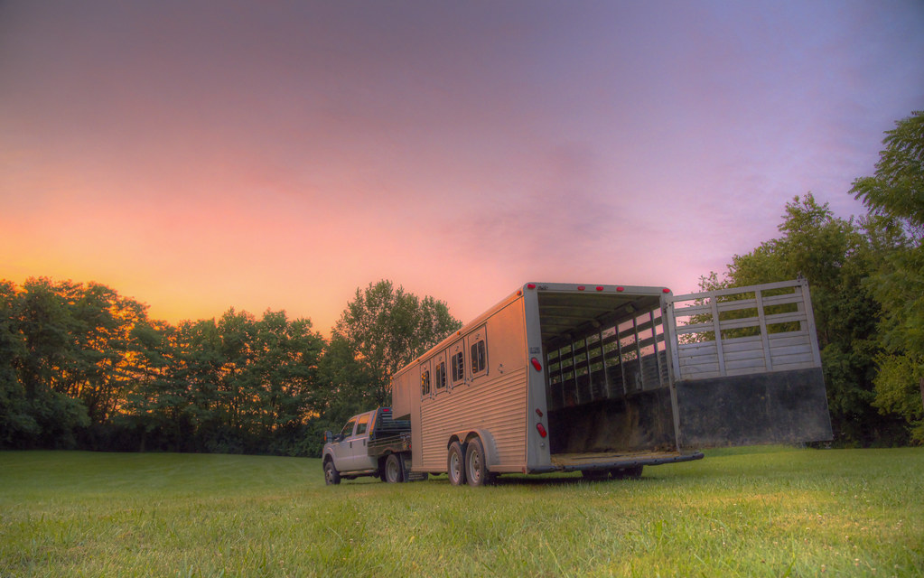Trailer After the Rain in Kentucky