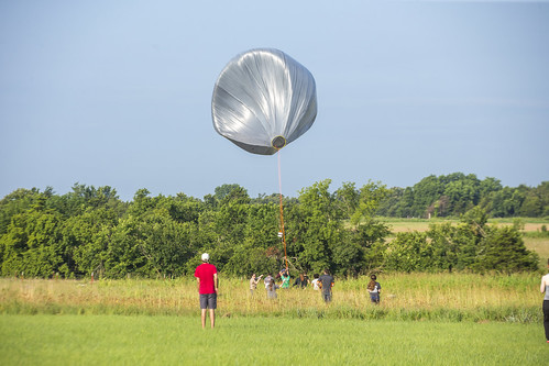 Weather Balloon Launch 3